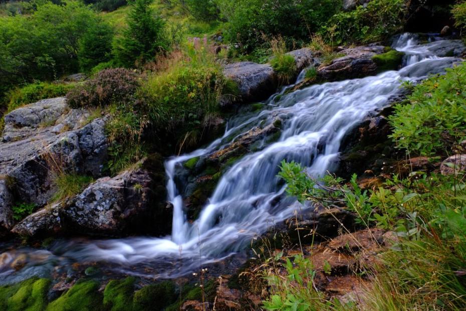 Labský vodopád, Krkonoše