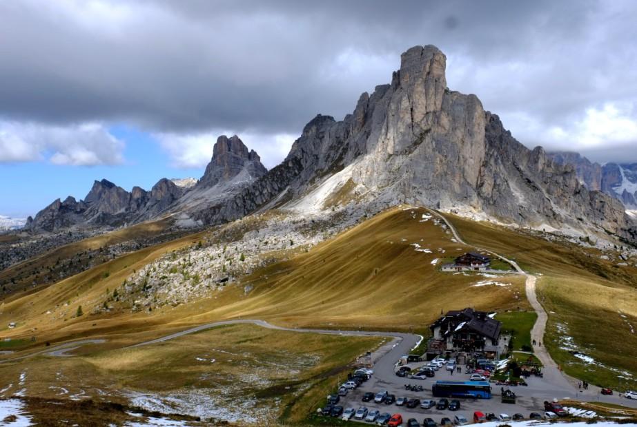 Průsmyk Giau, Dolomity