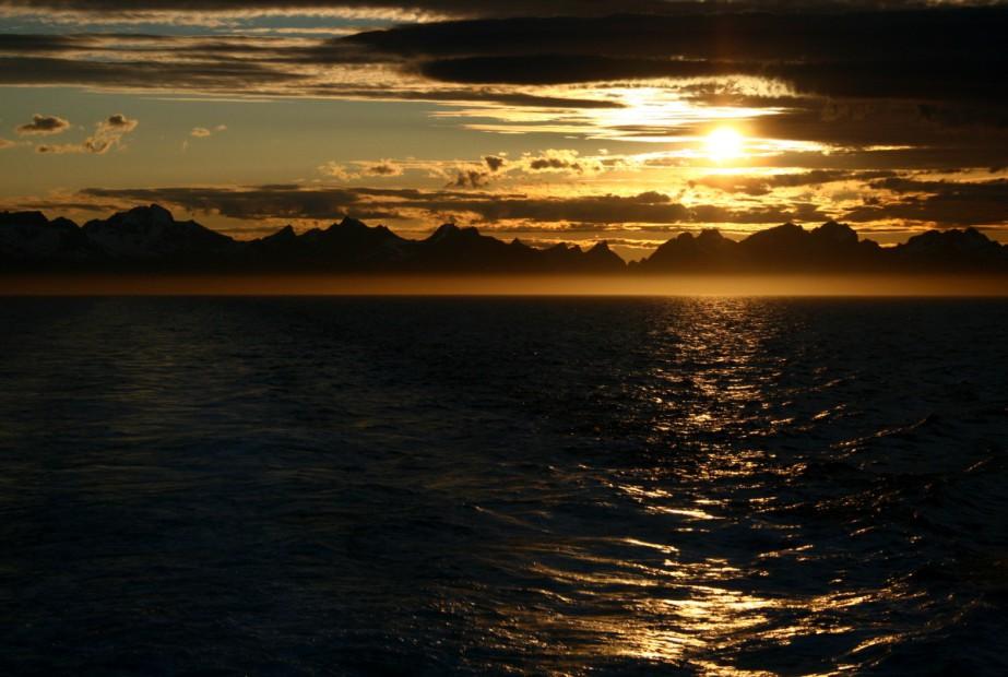 Pohled na Lofoty, Norsko