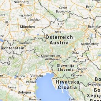 Body zájmu Rakousko a Slovinsko