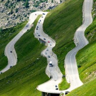 Nejlepší švýcarské průsmyky a silnice
