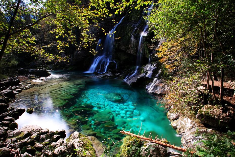 Vodopády Virje