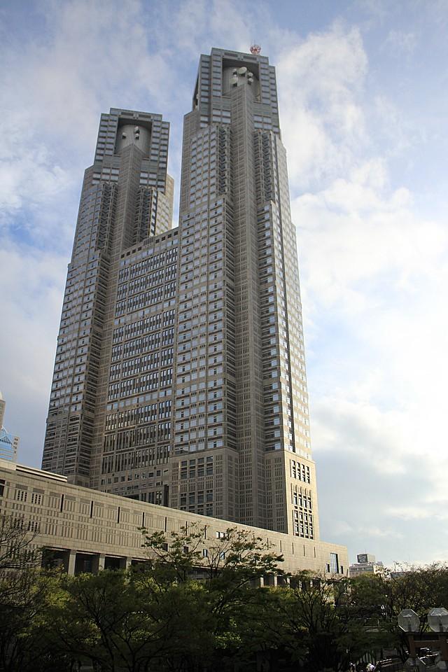 Budova Metropolitní radnice připomínající gotickou francouzskou katedrálu