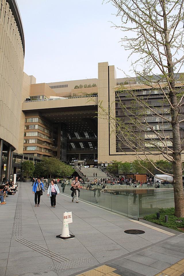 Obrovská Osaka Station