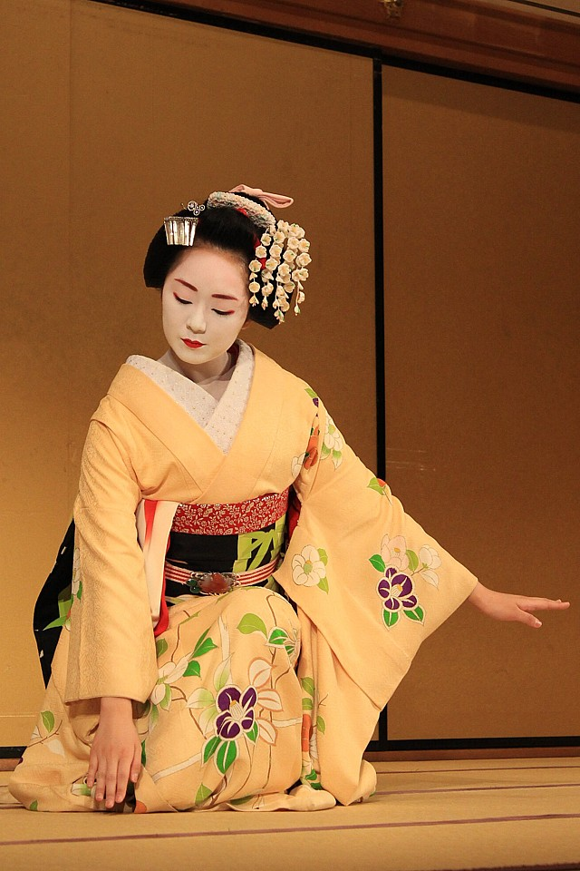 Tančící maiko