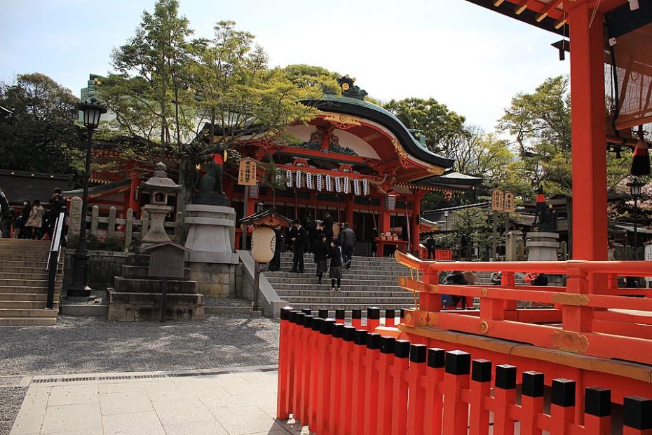 Svatyně Fušimi Inari v Kjótu