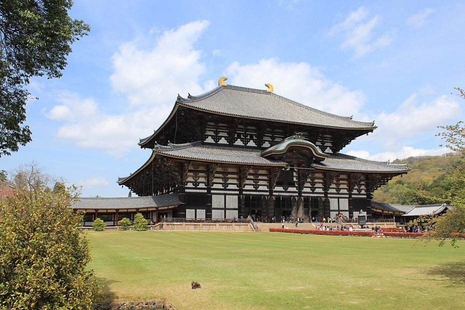 Chrám Tódaidži v Naře je největší dřevěnou stavbou světa