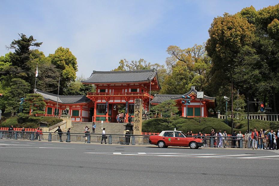 Jasaka džindža v Gionu
