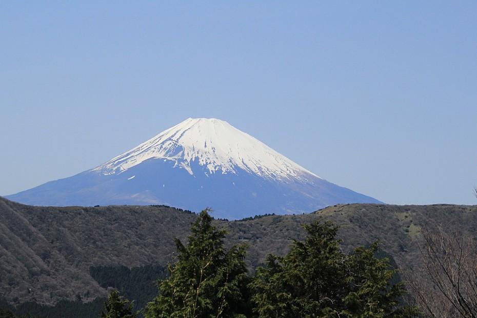 Symbol Japonska – posvátná Fudži-san měřící 3776 metrů