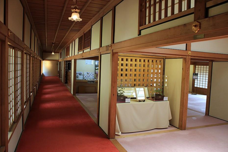 Interiéry Císařské vily Katsura