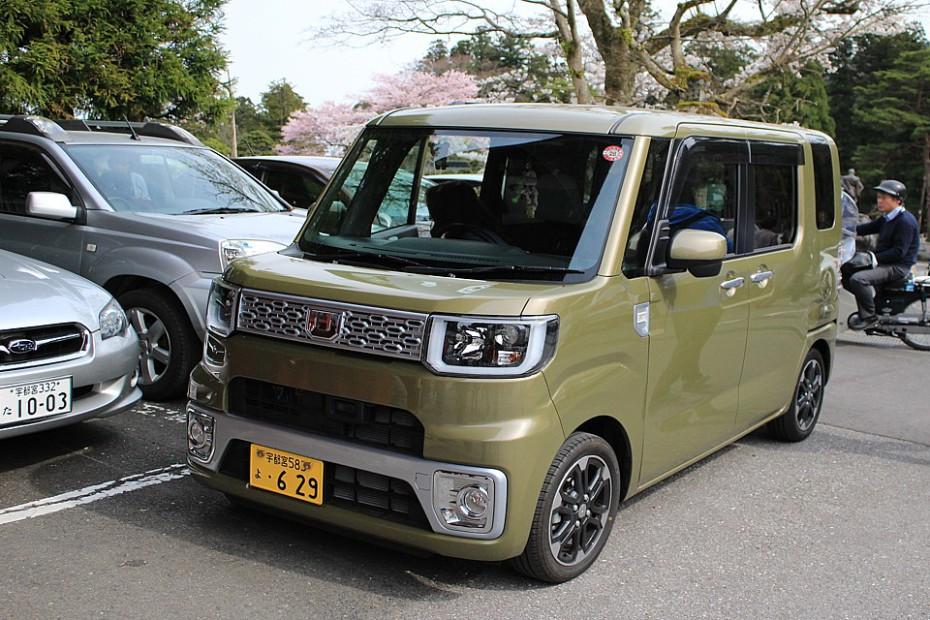 Typické úsporné japonské auto
