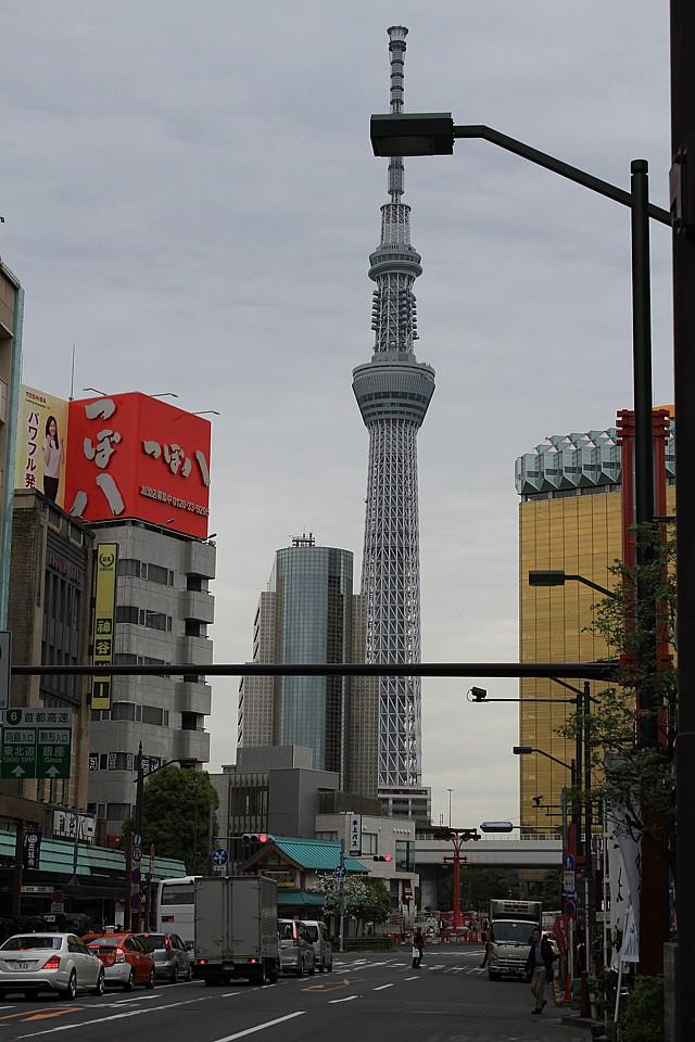 2. nejvyšší budova světa – Tokio Sky Tree