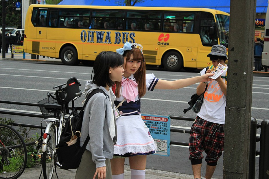 Maidka radí Japonce